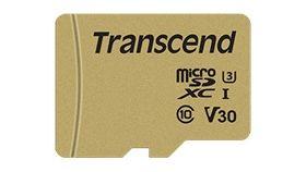 TRANSCEND 32GB microSDHC I Class 10 U3 V30 MLC with Adapter