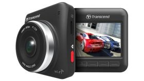 """Камера за кола Transcend Car Video Recorder 32G DrivePro 200, 2.4"""" LCD, Wi-Fi 802.11n, 7 glass lenses, with Adhesive Mount, microSD card in"""