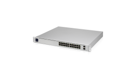 24-портов гигабитен комутатор Ubiquiti UniFi Switch USW-Pro-24-POE Pro 24 PoE Gen2
