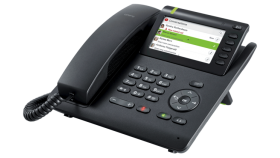 IP Телефон Unify OpenScape Desk Phone CP400, 4 Line With Display, PoE, PC Port, Gigabit Switch