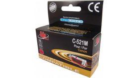Мастилница UPRINT CLI521  CANON, С чип, Magenta