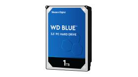 WD Desktop Blue WD10EZEX 1TB SATA 6Gb/s 64MB Cache Internal 8.9cm 3.5Zoll Desktop HDD 7200rpm Bulk