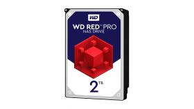 WD Red Pro 2TB SATA 6Gb/s 64MB Cache Internal 8.9cm 3.5inch 24x7 7200rpm optimized for SOHO NAS systems 1-24 Bay HDD Bulk