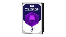 WD Purple 3TB SATA 6Gb/s CE HDD 3.5inch internal 5400Rpm 64MB Cache 24x7 Bulk