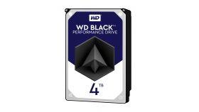 WD Desktop Black 4TB HDD 7200rpm 6Gb/s serial ATA sATA 256MB cache 3.5Inch intern RoHS compliant Bulk