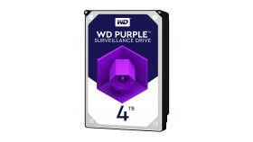 WD Purple 4TB SATA 6Gb/s CE HDD 3.5inch internal 5400Rpm 64MB Cache 24x7 Bulk