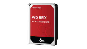 WD Red 6TB SATA 6Gb/s 256MB Cache Internal 3.5inch 24x7 IntelliPower optimized for SOHO NAS systems 1-8 Bay HDD Bulk