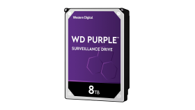 WD Purple 8TB SATA 6Gb/s CE HDD 8.9cm 3.5inch internal 7200Rpm 256MB Cache 24x7 Bulk(P)