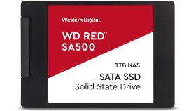 WD Red SSD SA500 NAS 1TB 2.5inch SATA III 6 Gb/s internal single-packed
