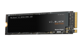 SSD WD Black SN750 1TB PCIe Gen3 8Gb/s for Gaming, NVMe (PCIe Slot) M.2 2280 3D NAND, read-write: up to 3470MBs, 3000MBs (5 years warranty)