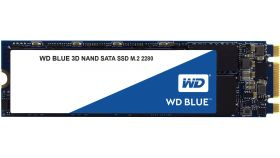 SSD WD Blue 3D NAND 500GB M.2 2280(80 X 22mm) SATA III, read-write: up to 560MBs, 530MBs (5 years warranty)