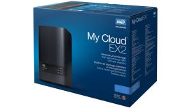 HDD 0TB LAN 1000Mbps NAS MyCloud EX2 ULTRA 2-bay Gigabit + 2 x USB 3.0