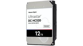 "HDD 12TB WD Ultrastar DC HC520 3.5"" SATAIII 256MB, Наследник на WD Gold (5 years warranty)"