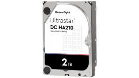 "HDD 2TB WD Ultrastar DC HA210 3.5"" SATAIII 128MB, Наследник на WD Gold (5 years warranty)"