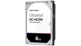 "HDD 6TB WD Ultrastar DC HC310 3.5"" SATAIII 256MB, Наследник на WD Gold (5 years warranty)"