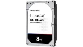 "HDD 8TB WD Ultrastar DC HC320 3.5"" SATAIII 256MB, Наследник на WD Gold (5 years warranty)"