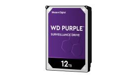 HDD 12TB SATAIII WD Purple 256MB for DVR/Surveillance (3 years warranty)