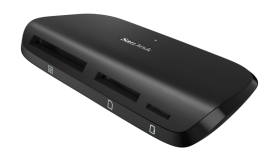 Четец за флаш карта SanDisk ImageMate Pro USB 3.0/USB 2.0 Multi-Card Reader/Writer USB 3.0/USB 2.0 for non-UHS/UHS-I/UHS-II SD/SDHC/SDXC/microSDHC/microSDXC, UDMA 7-enabled CompactFlash, Read Speed: up to 500MB/s