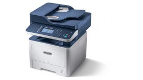 Мултифункционално у-во Xerox WorkCentre 3335, A4, 33ppm, 4in1,10/100/1000 BaseT Ethernet, USB 2.0, Wi-Fi, Duplex, 300 sheets, 1000 MHz, 1.5 GB, 50-sheet ADF, 50K pages/month