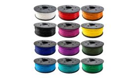 Консуматив за 3D принтер XYZprinting -PLA (NFC) filament 600gr, Clear RED, за DaVinci Junior