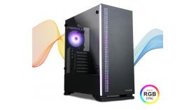 Кутия за настолен компютър Zalman S5 ATX Mid-Tower черна
