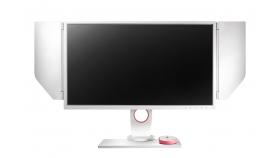 Монитор ZOWIE XL2546 Divina Pink 240Hz DyAc™, TN, 24.5 inch, Wide, Full HD, DP, DVI-DL, HDMI, Бял