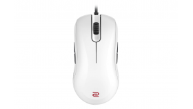 Геймърска мишка ZOWIE, FK1+, Оптична, Кабел, USB, Бял