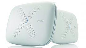 Безжична Mesh система ZYXEL AC3000, Multy X, две в комплект, Tri-Band
