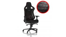 Геймърски стол noblechairs EPIC, Black/Red