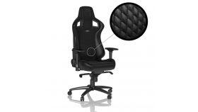 Геймърски стол noblechairs EPIC Real Leather, Black