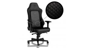 Геймърски стол noblechairs HERO Real Leather, Black
