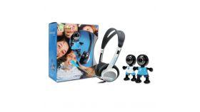 Web Camera CANYON CNR-CP9 (2Mpixel, CMOS, USB 2.0 & Headset with microphone HS11) Черен/Син