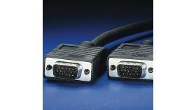 ROLINE 11.04.5206 :: VGA кабел HD15 M/M, 6.0 м, Quality