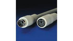ROLINE 11.99.5630 :: PS/2 M/F, 3.0 м, ATX, монолитен, удължителен кабел