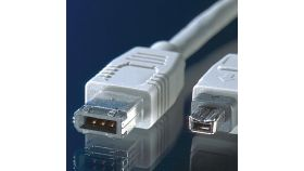 ROLINE 11.99.9430 :: IEEE 1394 Fire Wire кабел, 6/4-pin, 3.0 м