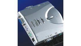 "ROLINE 14.99.3296 :: Автоматичен KVM Switch ""Pocket"", 1x User - 2 PCs, аудио"