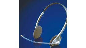 ROLINE 15.08.1310 :: Слушалки с микрофон, черен цвят, 2x 3.5 мм жак