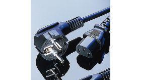 ROLINE 19.99.1018 :: VALUE захранващ кабел, черен цвят, 1.8 м