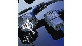 ROLINE 19.99.1118 :: VALUE Захранващ кабел, ъглов, Schuko, 1.8 м, черен цвят