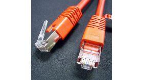 ROLINE 21.15.0231 :: FTP Patch кабел Cat.5e, 1.0 м, crosswired, червен цвят