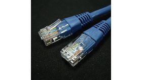 ROLINE 21.15.0524 :: UTP Patch кабел Cat.5e, 0.5 м, AWG24, син цвят