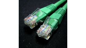 ROLINE 21.15.1533 :: UTP Patch кабел, Cat.6, 1.0 м, зелен цвят, AWG26
