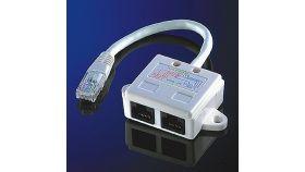 ROLINE 21.99.3045 :: Y адаптер, 1x RJ-45 M към 2x RJ-45 F, UTP