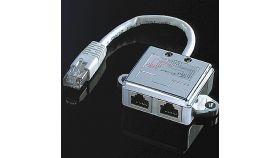 ROLINE 21.99.3050 :: Y адаптер, 1x RJ-45 M към 2x RJ-45 F, STP