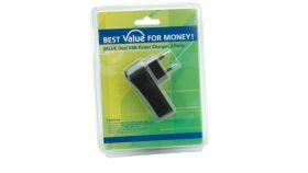 ROLINE 19.99.1057 :: VALUE USB зарядно, 2 USB порта A F