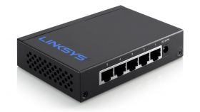Linksys LGS105 :: 5-Port Desktop Gigabit Switch