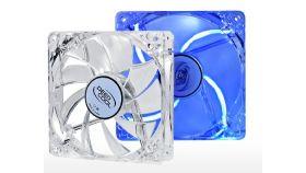 DeepCool Вентилатор Fan 120mm Blue LED Xfan 120 L/B - 1300rpm Светещ вентилатор с LED в син цвят, 120мм