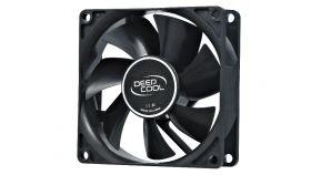 DeepCool Вентилатор Fan 80mm Xfan 80 - 1800rpm Бюджетен вентилатор, подходящ за кутия или за захранване, 80 x 80 мм, 0.08A, букса molex за захранване