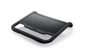 "DeepCool Охладител за лаптоп Notebook Cooler N200 15.6"" Black Лаптоп охладител с голям и тих 120мм вентилатор"