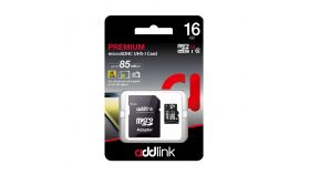 Addlink карта памет microSDHC 16GB UHS-1 Adapter  - ad16GBMSH310A
